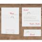 Wunderbare Einladungen - Mögliches Kartenzubehör