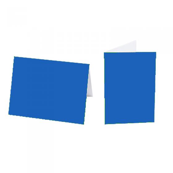"""Einlegeblätter """"Blau"""" für Weihnachts- und Neujahrskarten"""