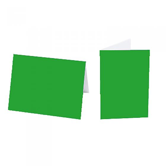"""Einlegeblätter """"Grün"""" für die Weihnachtskarten"""