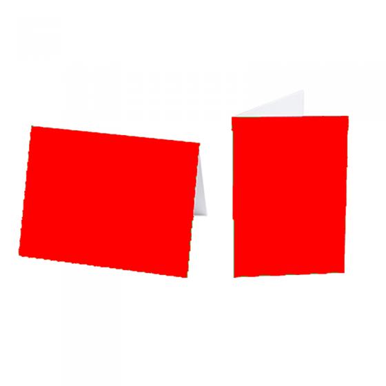 """Einlegeblätter """"Rot"""" für Weihnachts- und Neujahrskarten"""