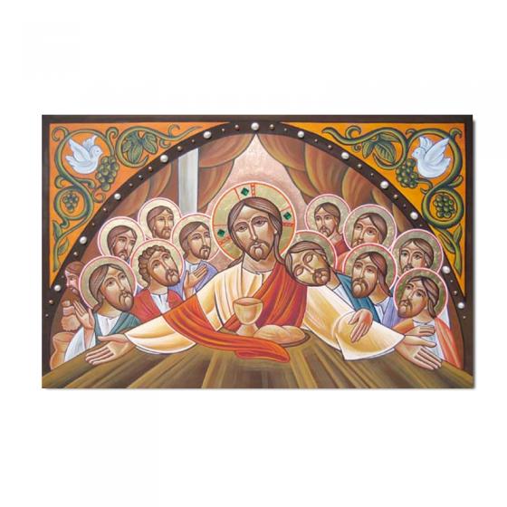 Kommunionbildchen / Heiligenbildchen im klassischen Design