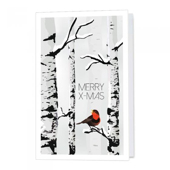 """Moderne Weihnachtsgrüße """"Winter"""" im trendigen Design"""