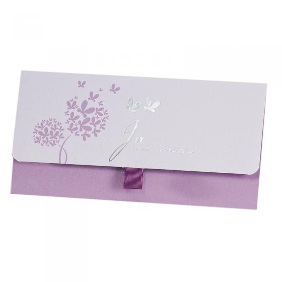 Romantische Hochzeitsmappe im luxuriösen Premiumdesign