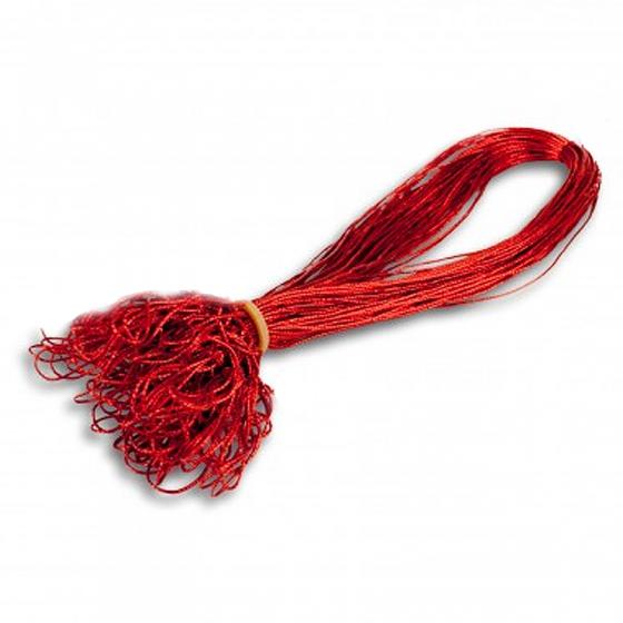 """Schmuckgummiband """"Rot"""" mit Schlaufe zum Fixieren der Einlegeblätter"""