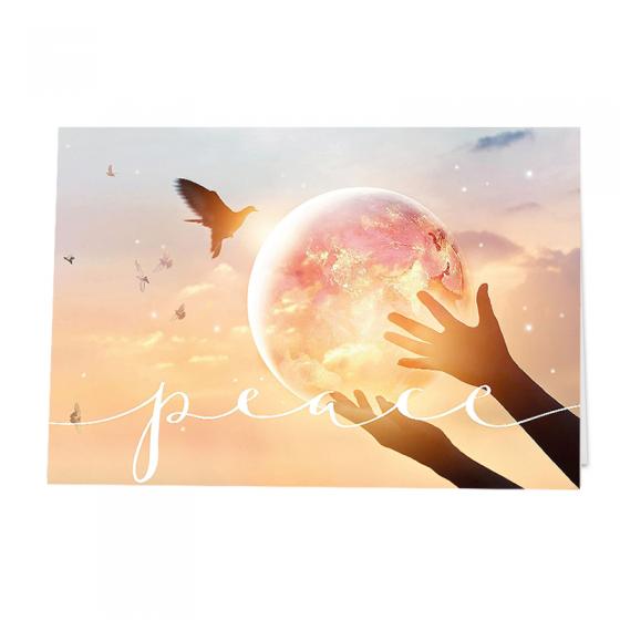 Stimmungsvolle Neujahrskarten mit beeindruckender Winterlandschaft