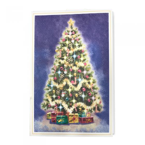 Traditionelle Weihnachtskarten zum Schnäppchenpreis
