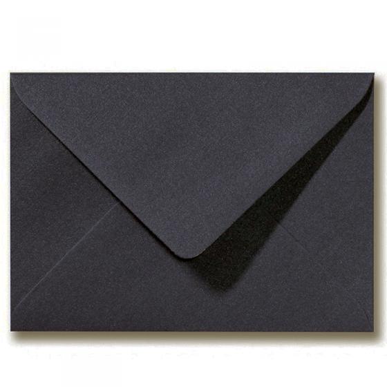 """Schmuckkuvert / Briefumschlag """"Schwarz"""", nassklebend (18,5 x 12 cm)"""